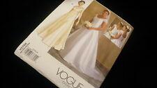 Vogue bridal original No. V2788 size 12 14 16 formal dress sewing pattern #JF