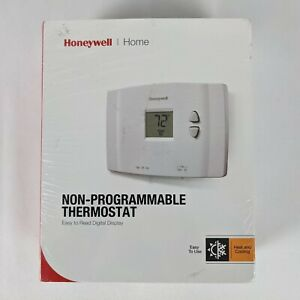 Honeywell Digital Non-Programmable Thermostat Heat and Cool - White ~ RTH111B