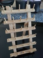 June Tailor 30 Spool Sewing & Embroidery Holder Thread Rack Stand - NICE!