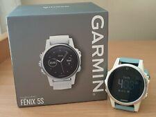 Garmin Fenix 5S Multisport GPS Running Watch - White, Small, Lightweight