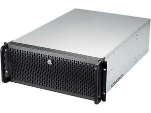 Rosewill 255071 Case Rsv-l4500u Server 4u 15bays 8fans Usb E-atx Black Metal