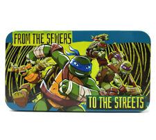 Teenage Mutant Ninja Turtles Tin Box Tmnt Storage Pencil Box