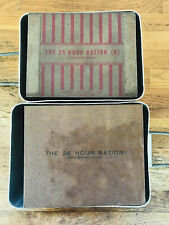 Reproduction 24 Hour Ration Box Set Assault & Standard (Pair), WWII British DDay