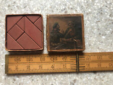 Vintage Tile Game Lithographed Box