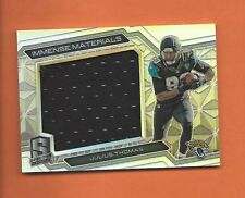 2016 SPECTRA IMMENSE MATERIALS JULIUS THOMAS GAME-USED JERSEY #d 26/99 JAGUARS