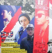 Point Block - Best of British 2012  [DJMAG]  (CD) . FREE UK P+P...............