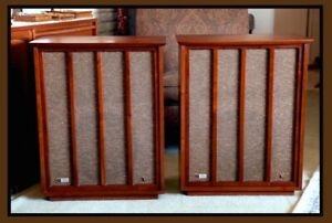 FISHER XP-10 Speaker Pair, Vintage 1966, TESTED! NICE! U.S. Shipping 48 States