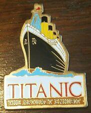 TITANIC the Artifact Exhibit Ship Magnet