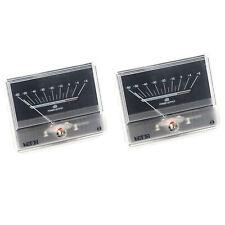 2pcs Tn90 Vu Meter Db Level Header Audio Power Amplifier Chassis Backlight