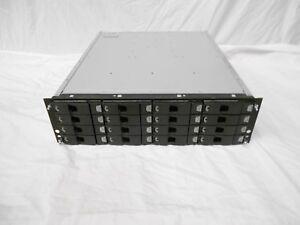Data Domain ES20 32TB 16x 2TB SATA STORAGE SAS ENCLOSURE JBOD RS-1603-E3-EBD
