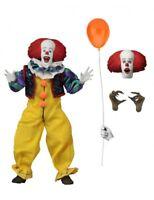 Figure Action Pennywise Stephen Film It 1990 Retro Clown 2 Visages Original Neca