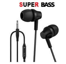 For iPhone 6S 6 5 5S Wired 3.5MM Hifi Headphones Headset Earbuds Earphone Gifts
