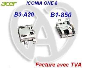 Acer Iconia ONE 8 B3-A20 / B1-850 Connecteur de Charge Port d'Alimentation USB