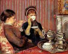 Victorian Women Ladies Drinking China Cup 8x10 Print 1077 Tea by Mary Cassatt
