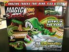 Magic Tracks Dino Chomp Glow in The Dark Race Track Set 9ft Speedway New 2020