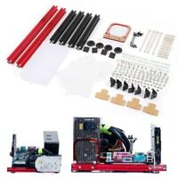ITX/M-ATX/ATX Motherboard DIY Open 20x20 Aluminum Alloy Frame Test Bench PC Case