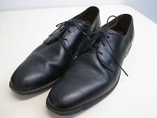 Men's Allen Edmonds Kenilworth black leather lace up oxfords size 11 B EUC!