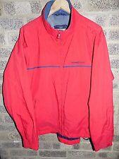 men's red Henri Lloyd lightweight jacket