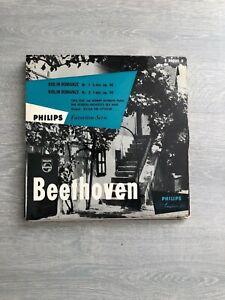 Theo Olof Herman Krebbers-Beethoven 25 CM LP