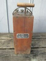 CANADIAN EXPLOSIVES DYNAMITE BLASTING MACHINE  PLUNGER 3-POST SYSTEM  (CONS)