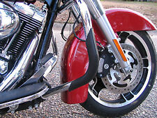 Pro Guards Crash Bar Protectors for Harley Davidson's BLACK Front Only