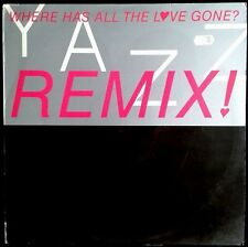 "YAZZ -  Where Has All The Love Gone? Remix! - UK Maxi Single 12"" Big Life 1989"