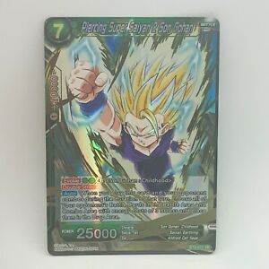 Piercing Super Saiyan 2 Son Gohan BT2-073 SR Foil - Dragon Ball Super Card - NM