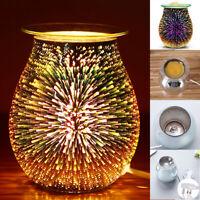 Electric Wax Melt Burner Aroma Melt Warmer 3D Lamp Starburst Touch Control GIFT
