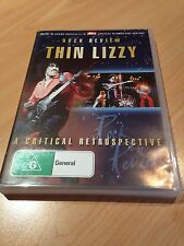 Thin Lizzy Rock Review - A Critical Retrospective Dvd, Aus Seller, Free Postage