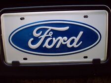 2000 2001 2002 2003 2004 2005 2006 FORD ESCAPE FORD LOGO FRONT LICENSE PLATE