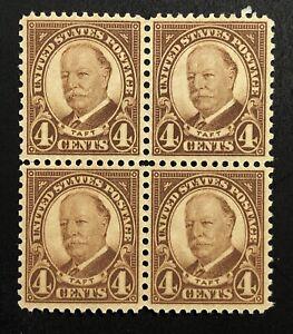 us-stamps&more, Scott #685, Block of 4, unused, HR, OG, (stk #0837)