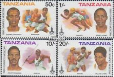Tanzania 157-160 (complete issue) unmounted mint / never hinged 1980 Olympics Su