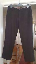 "Men's Next Brown Mix Smart Trousers, W34 x L31"", VGC"