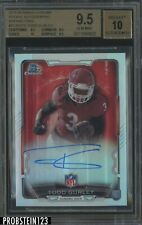 2015 Bowman Chrome Refractor Todd Gurley Rams RC Rookie BGS 9.5 w/ 10 AUTO
