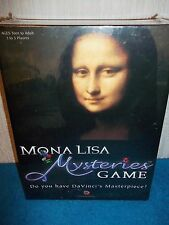 MONA LISA MYSTERIES GAME - DO YOU HAVE THE MASTERPIECE? - NEW & SEALED - RARE