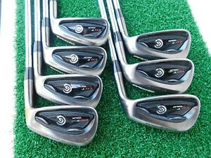 Cleveland CG7 TOUR Black Pearl (4i-PW) Iron Set w/ True Temper XP95 S300 Shafts
