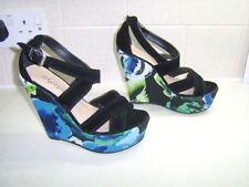 New Look Women's Suede Wedge Sandals