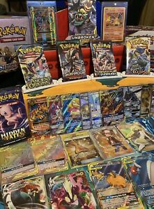 Pokemon Booster Packs - 1x Sealed Booster + 1x Ultra Rare Card++ New/Old sets