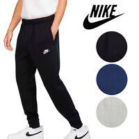 Nike Men's Athletic Wear Ribbed Cuff Drawstring Fleece Jogger Sweatpants