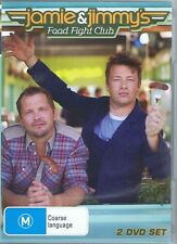 JAMIE OLIVER & JIMMY'S Food Fight Club Series 1 One (2 x DVD Set) NEW & SEALED