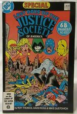 Last Days of the Justice Society of America Special #1 1986 DC