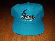 Vtg Sacramento Gold Miners Cfl Snapback Hat Youngan Sports Specialties Rare Nwot