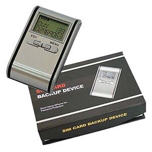 Sim Card Backup Model:601