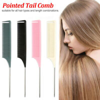 1X Fine-tooth Combs Hair Salon Dye Comb For Hair Styling Hairdressing Antistatic