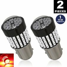 LUYED 2 x 900 Lumens 12-24v 1157 3014 78-smd Red 1157 2057 2357 7528 LED Bulbs