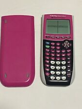 TI-84 Plus Silver Edition Pink Texas Instruments Graphing Calculator Tested