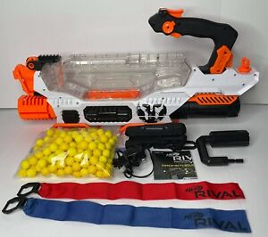 Nerf Rival Prometheus MXVIII-20K Blaster with 185 Rounds - Charger