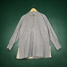 R BY 45RPM STUDIO JAPAN PULLOVER HALF BUTTON SHIRT SIZE 3