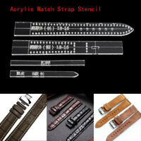 Acrylic Template Mould Band Stencil Watch Strap Mold Craft Tool Leather