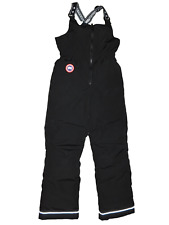 NEW NWT Youth CANADA GOOSE Black Wolverine Bib Snow Ski Pants XL $395